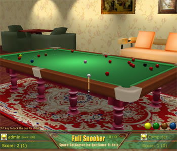 Snooker Game is a free online game.