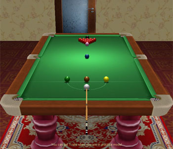 Click to view Snooker Game 2.0 screenshot